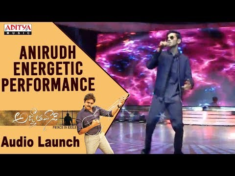Anirudh Energetic Live Performance @...