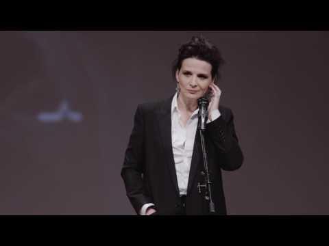 Juliette Binoche JCF2016