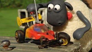 Барашек Шон все серии подряд 30 минут Новые мультики для детей Баранчик про машинки Shaun The Sheep