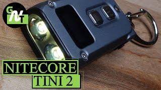 Nitecore TINI 2 500 Lumen Keychain Flashlight