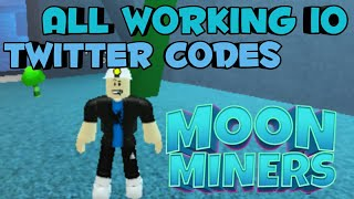Roblox Moon Miners Codes 2019 - Travel Online