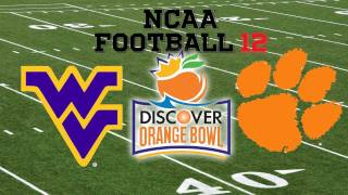 NCAA Football 12: Orange Bowl - West Virginia vs. Clemson
