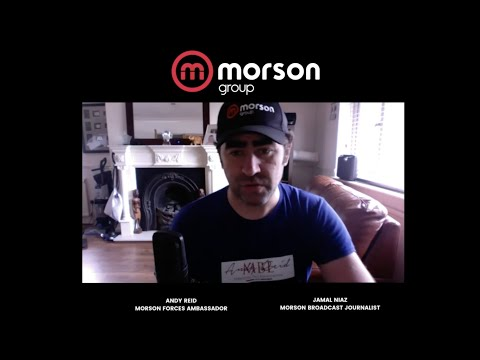 Andy Reid on his role as Morson Forces ambassador, Standing Tall Foundation & more!