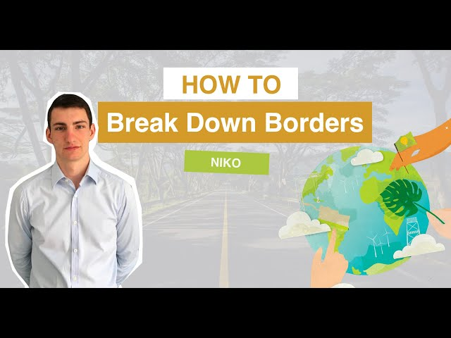 How to break down borders | Nikodem Genc