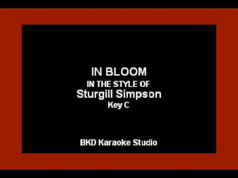In Bloom (In the Style of Sturgill Simpson) (Karaoke with Lyrics)