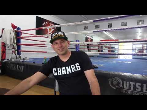 Notes From The World Tour Elie Seckbach Talks To Ricky Funez EsNews Boxing