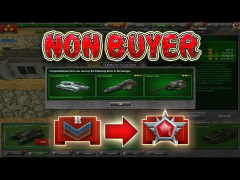 Tanki Online Road To Legend #1 (New Account) NON BUYER Танки Онлайн