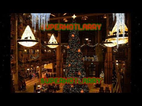 WDW Wilderness Lodge Christmas Loop Part 1