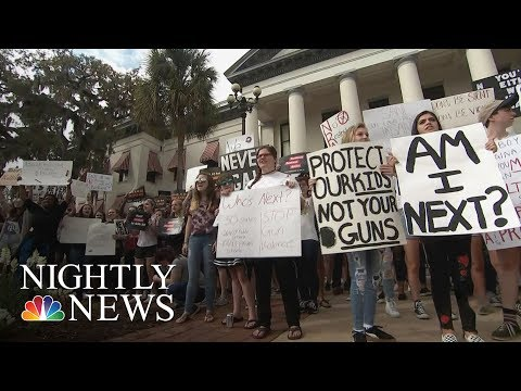 After Parkland, Students Take Action With Walk-Outs And Active Shooter Training   NBC Nightly News