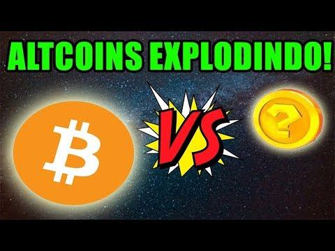 Bitcoin Perdendo Fôlego e Altcoins EXPLODINDO!🚀 Fx Trading Caiu! Faliu!