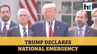 US President Donald Trump declares national emergency over coronavirus outbreak