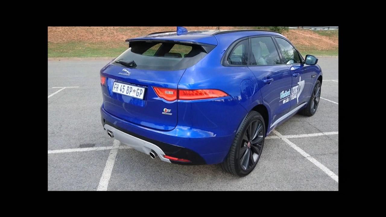 Jaguar F Pace Walkaround - YouTube