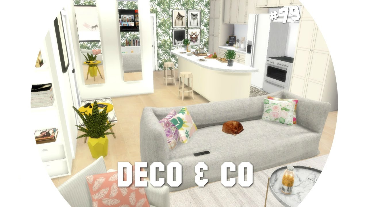 les sims 4 deco co 79 maison printani re cc liste youtube. Black Bedroom Furniture Sets. Home Design Ideas