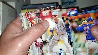 Fairfield Baseball Prime Pack Box Break. Hit! Topps Chrome Rookie Auto Pull