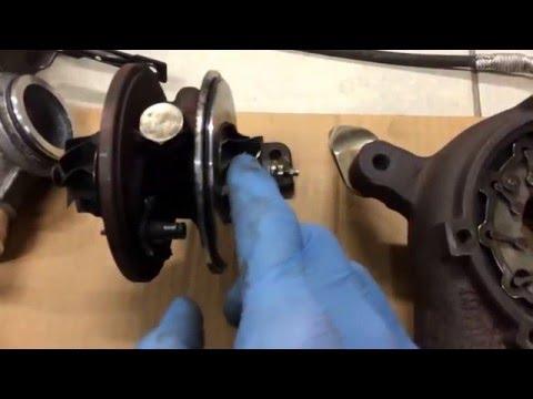 VW T5  2,5 TDI Turbine cleaning