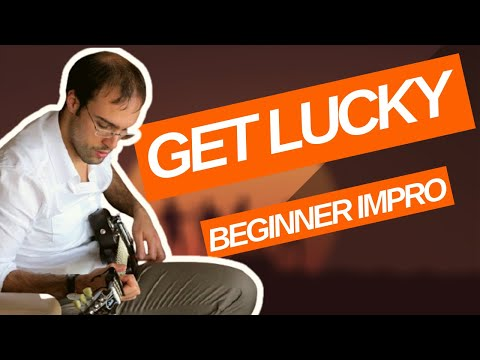 Guitar Improvisation from Get Lucky Chords (Daft Punk) - YouTube