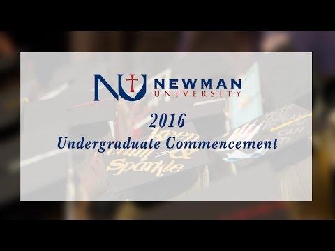 Undergraduate Commencement - Newman University