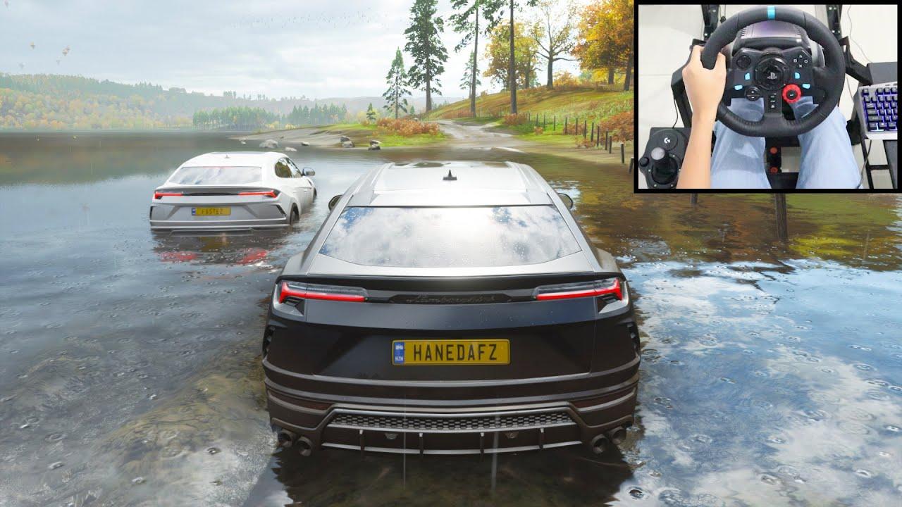 Lamborghini Urus - Forza Horizon 4 Online | Logitech g29 gameplay
