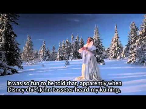 ❄️ Frozen Singer talking about SNOW on KOBRA SVT  ❄️