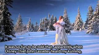 ❄️ Frozen Singer talking about SNOW on KOBRA SVT  ❄️