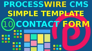 10 - Processwire Simple Template (Contact Form) Mp3