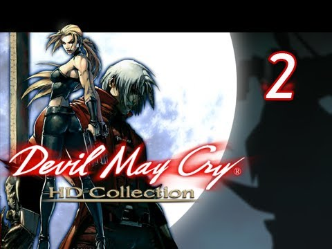 Devil May Cry HD Collection Walkthrough - Part 2 [Mission 2] Judge of Death XBOX PS3