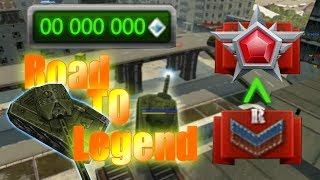 Tanki Online Road To Legend #1 A.F.F_XP no buying :o