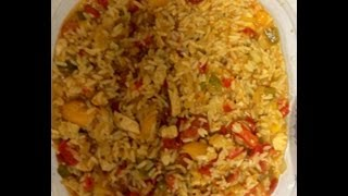 Weight Watchers Friendly Quick And Easy Jambalaya Recipe! 4 Points! Delicious!