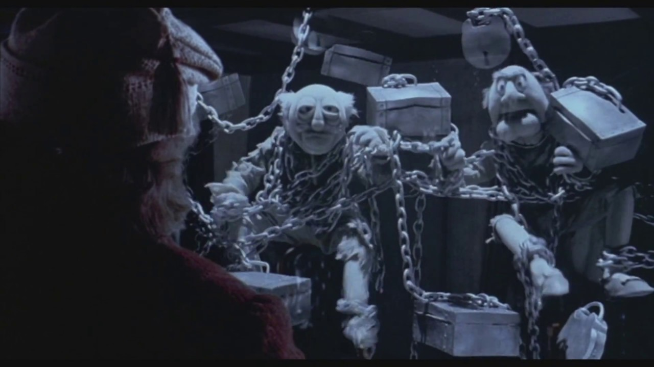 The Muppet Christmas Carol Jacob Marley.The Muppets Christmas Carol Marley Marley Swedish