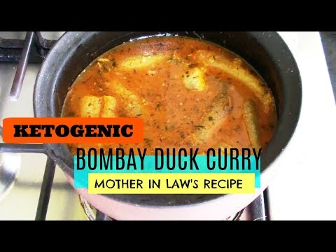 Bombay Duck Fish Curry (Mother In Law's Recipe)| Keto | LCHF | Low Carb