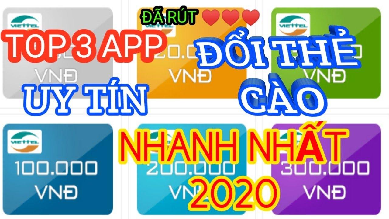 [ Đã Rút ] Top 3 App Kiếm Thẻ Cào, Thẻ Garena Uy Tín Và Nhanh Nhất 2020   Vua Kiếm Tiền