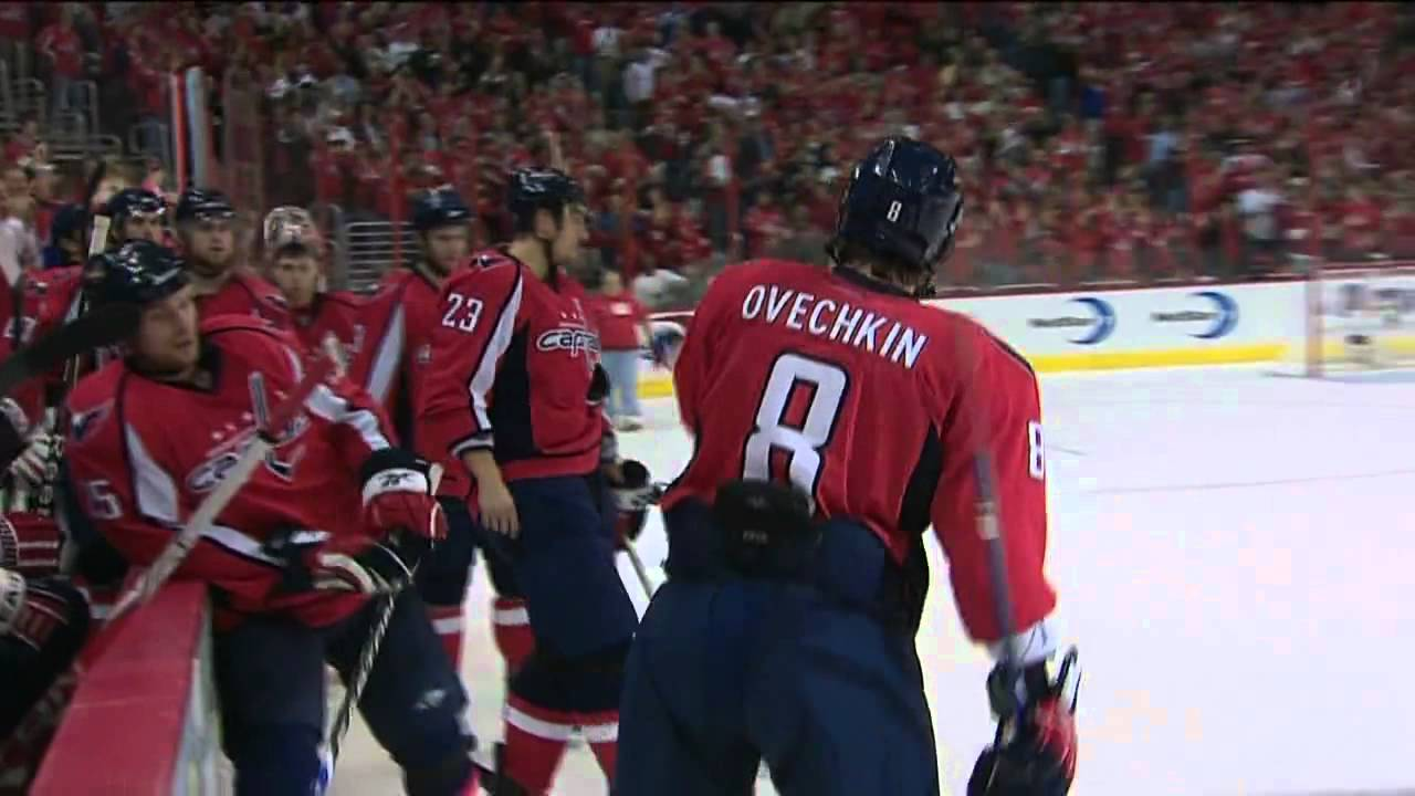 Alex Ovechkin Playoff Hat Trick vs Penguins - HD - YouTube b4edf50ed79