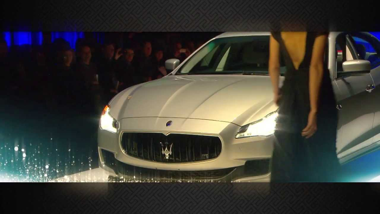 Zagame Maserati - Launch of the 2014 Maserati Collection - YouTube