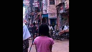 Child stunt indian rope dance