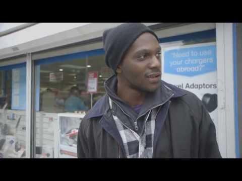 Homeless man tells story