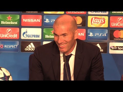 Zinedine Zidane Full Press Conference After Real Madrid Win The Champions League