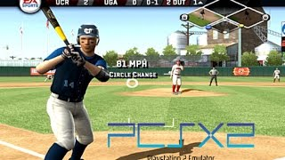 MVP 07 NCAA Baseball PCSX2 PS2 gameplay HD 60fps (HW Mode working)