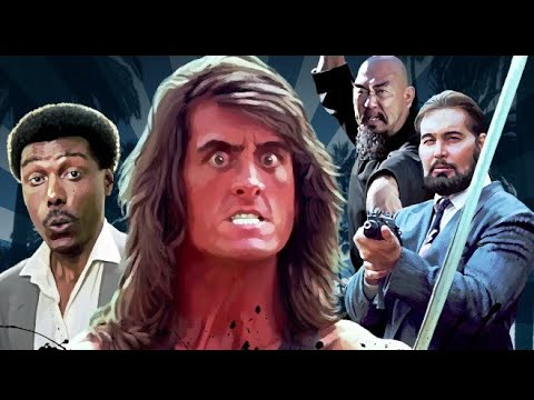 Samurai Cop 1991 Trailer KATANA NINJA YAKUZA Robert Z'Dar Los Angeles drug trade