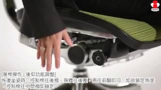 Ergohuman 111 PLUS 人體工學椅 - 操作教學