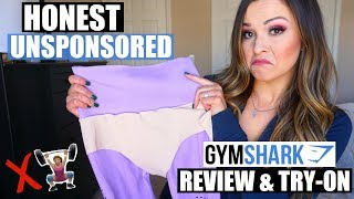 Brutally Honest Un-Sponsored GymShark Review, Size Guide & Try-On