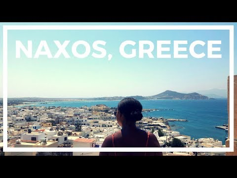 A Day in Naxos | Island #2| Greek Travel Vlog