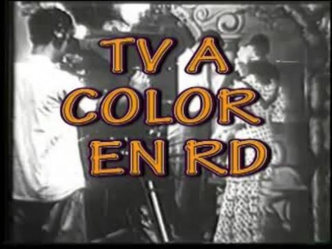 Inicio de la TV a color en la República Dominicana - 1969