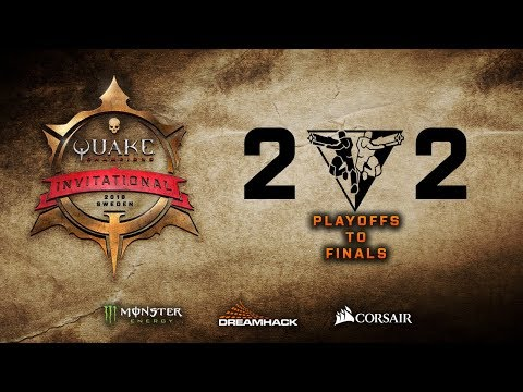 Quake Champions Invitational 2018 - DreamHack Winter - Day 2