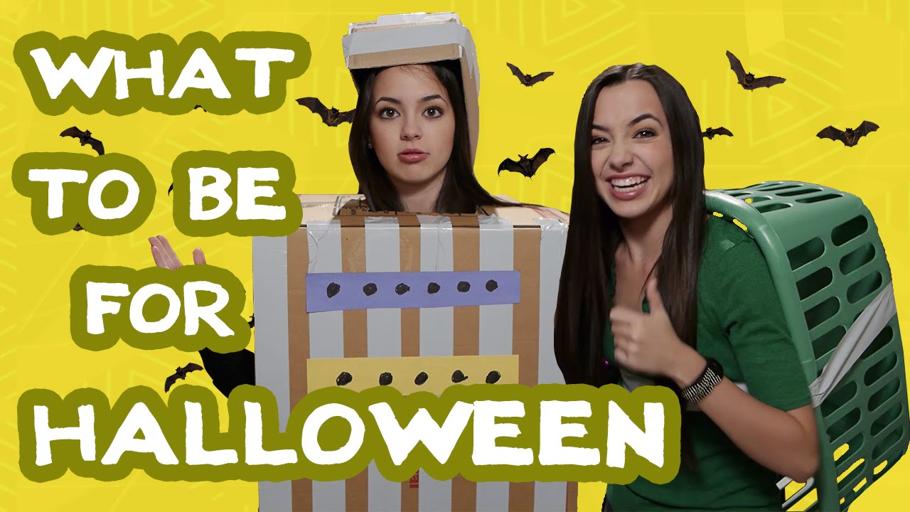 what should i be for halloween? - the merrell twins - youtube
