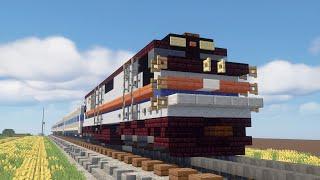 Minecraft Amtrak P30CH Phase II Train Tutorial