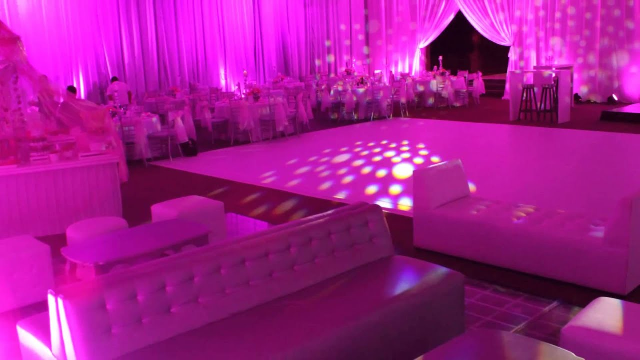 Sal n hacienda del refugio xv pink project youtube for Academy salon santa clara
