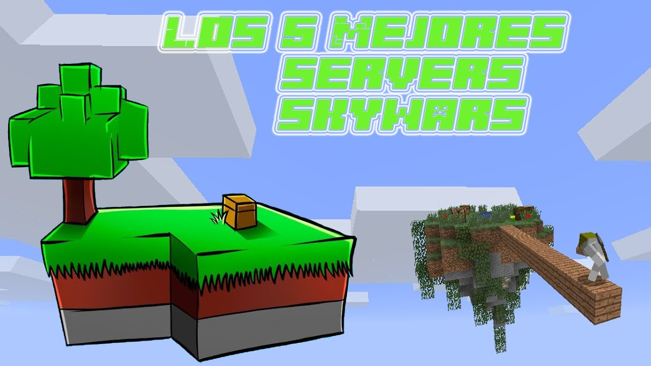 top 5 servers skywars minecraft NO premium, 1.7 - 1.8.X ...