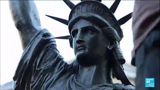 France : une petite soeur de la statue de la Liberté s'envole pour les États-Unis