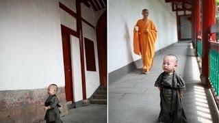 """奇闻异事 西禅寺""""小和尚""""爆红 带动僧服销售 140528"""