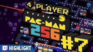 Pac-Man 256 - #7 - New Record (Twitch Highlight)